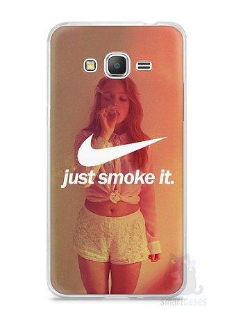 Capa Samsung Gran Prime Just Smoke It