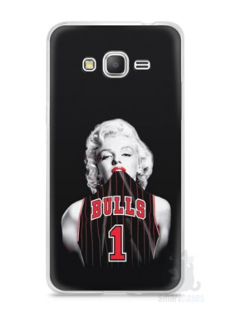 Capa Samsung Gran Prime Marilyn Monroe Bulls