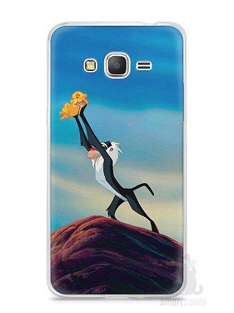 Capa Samsung Gran Prime Rei Leão