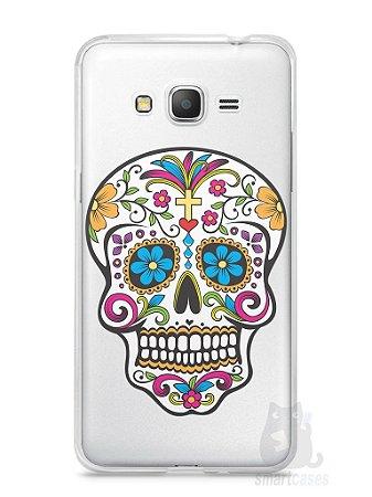 Capa Samsung Gran Prime Caveira Mexicana