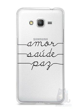Capa Samsung Gran Prime Amor Saúde Paz