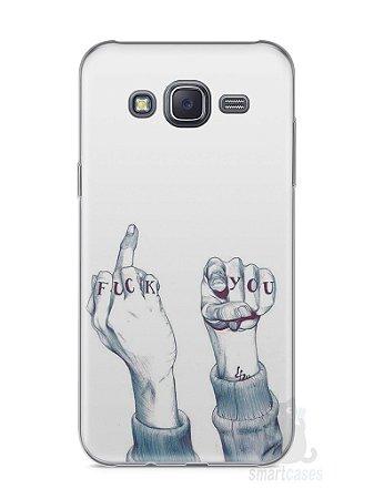 Capa Samsung J5 Fuck You