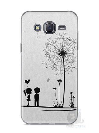 Capa Samsung J5 Casal Apaixonado