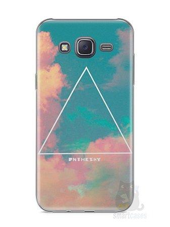 Capa Samsung J5 Triângulo no Céu