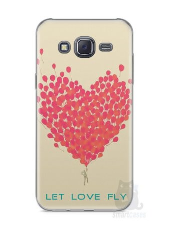 Capa Samsung J5 Deixe o Amor Voar