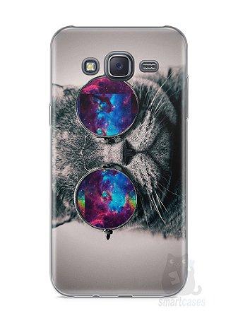 Capa Samsung J5 Gato Galáxia #1