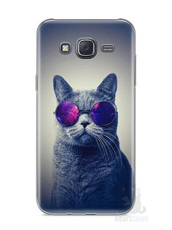 Capa Samsung J5 Gato Galáxia #2