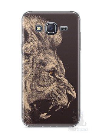 Capa Samsung J5 Leão Feroz