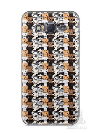 Capa Samsung J5 Gatos