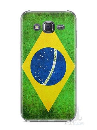 Capa Samsung J5 Bandeira do Brasil