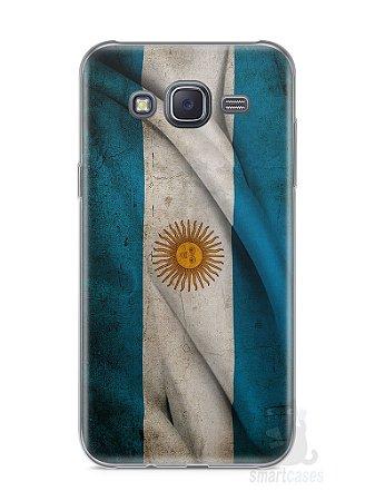 Capa Samsung J5 Bandeira da Argentina #1