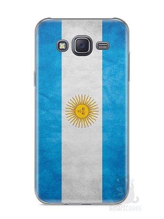 Capa Samsung J5 Bandeira da Argentina #2