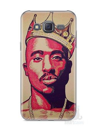 Capa Samsung J5 Tupac Shakur #1