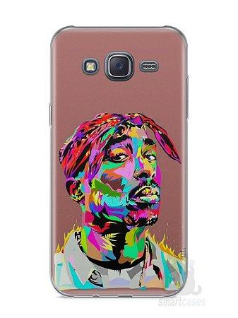 Capa Samsung J5 Tupac Shakur #4