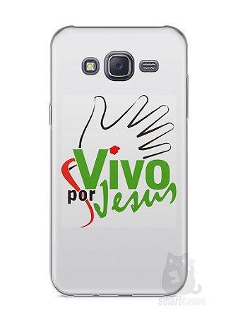 Capa Samsung J5 Vivo Por Jesus
