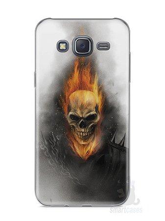 Capa Samsung J5 Motoqueiro Fantasma