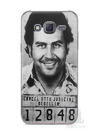 Capa Capinha Samsung J5 Pablo Escobar