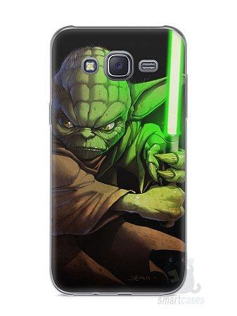 Capa Capinha Samsung J5 Yoda Star Wars