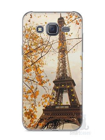 Capa Capinha Samsung J5 Torre Eiffel #1