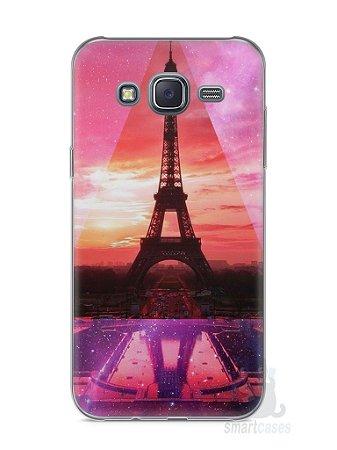 Capa Capinha Samsung J5 Torre Eiffel #2