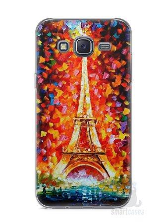 Capa Capinha Samsung J5 Torre Eiffel #3