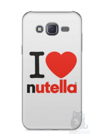 Capa Capinha Samsung J5 I Love Nutella