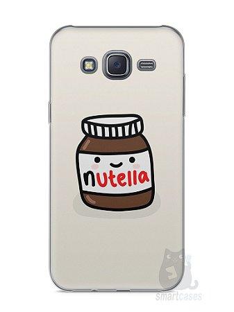 Capa Capinha Samsung J5 Nutella #2