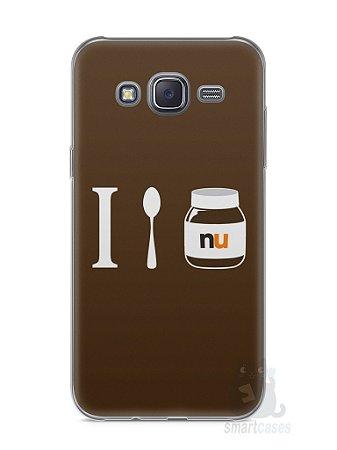 Capa Capinha Samsung J5 Nutella #4