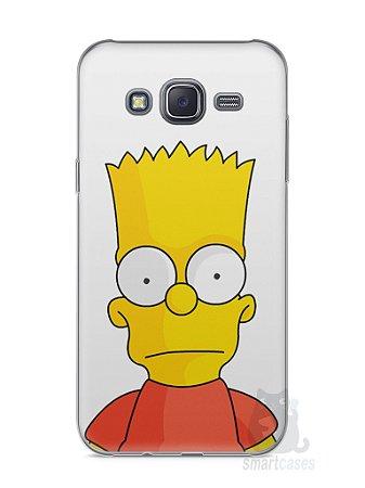 Capa Capinha Samsung J5 Bart Simpson