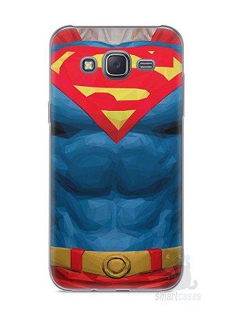 Capa Capinha Samsung J5 Super Homem #2