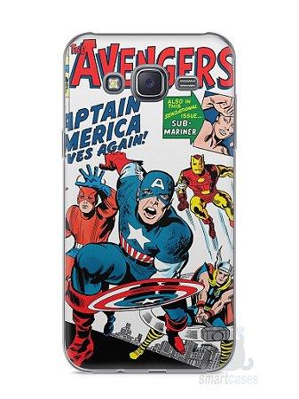 Capa Capinha Samsung J5 The Avengers
