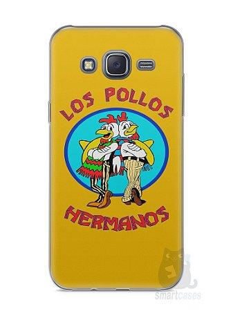Capa Capinha Samsung J5 Breaking Bad Los Pollos Hermanos #2