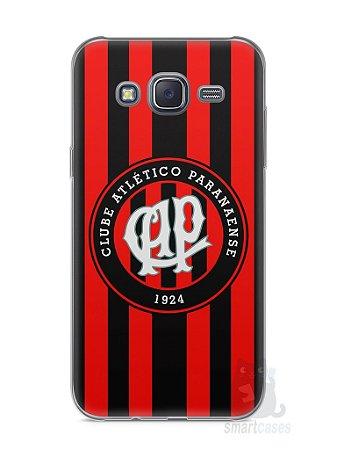 Capa Capinha Samsung J5 Time Atlético Paranaense