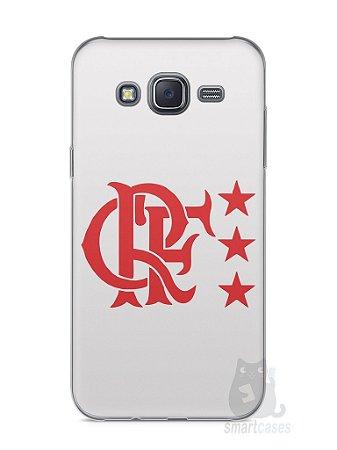 Capa Capinha Samsung J5 Time Flamengo #6