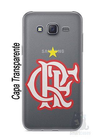 Capa Capinha Samsung J5 Time Flamengo #8