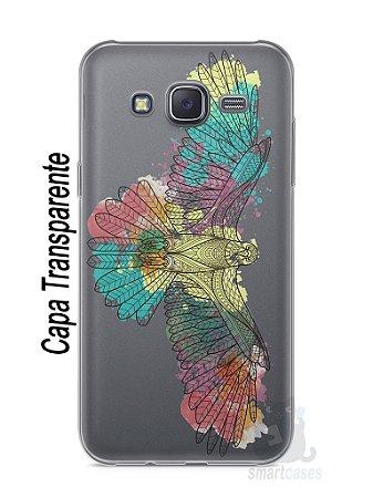 Capa Capinha Samsung J5 Águia Colorida