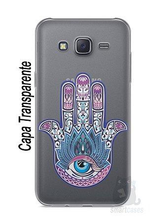 Capa Capinha Samsung J5 Mão de Hamsá #1