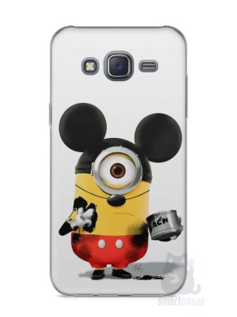 Capa Capinha Samsung J5 Minions Mickey Mouse