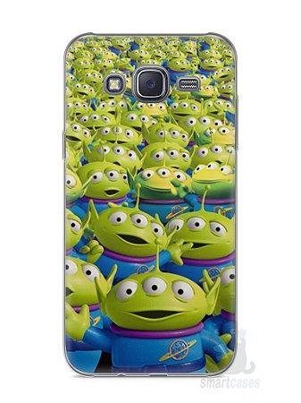Capa Capinha Samsung J5 Aliens Toy Story #2