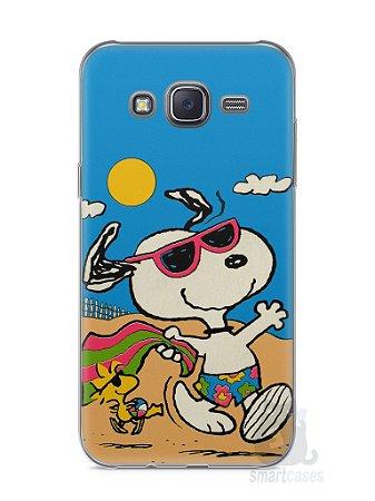 Capa Capinha Samsung J5 Snoopy #1