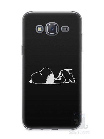 Capa Capinha Samsung J5 Snoopy #7
