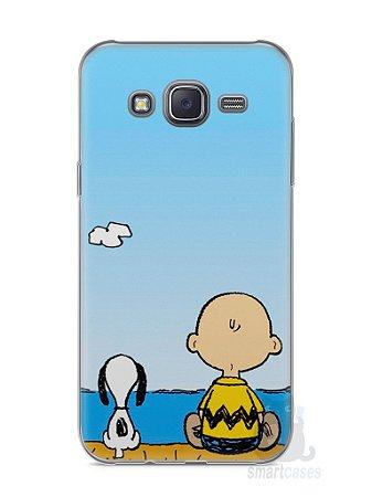 Capa Capinha Samsung J5 Snoopy #12
