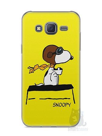 Capa Capinha Samsung J5 Snoopy #31