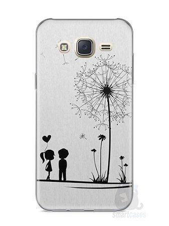 Capa Capinha Samsung J7 Casal Apaixonado