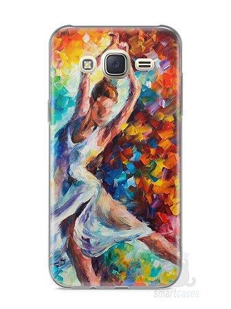 Capa Capinha Samsung J7 Bailarina Pintura
