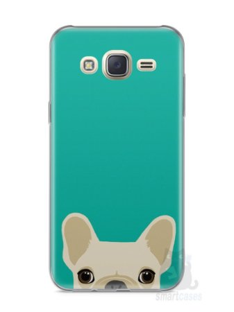 Capa Capinha Samsung J7 Cachorro Bulldog Francês #2