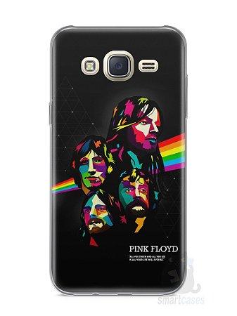 Capa Capinha Samsung J7 Pink Floyd #2