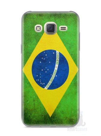 Capa Capinha Samsung J7 Bandeira do Brasil
