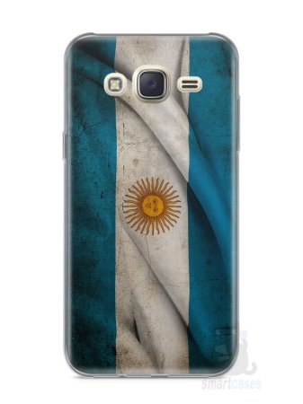 Capa Capinha Samsung J7 Bandeira da Argentina #1