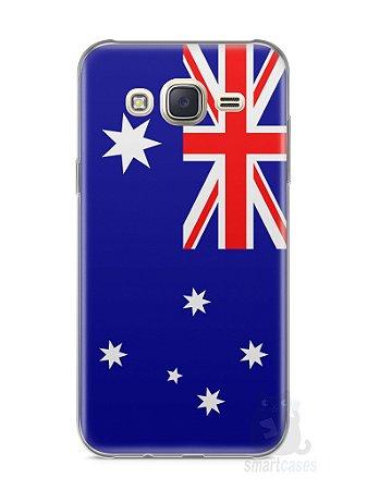 Capa Capinha Samsung J7 Bandeira da Austrália
